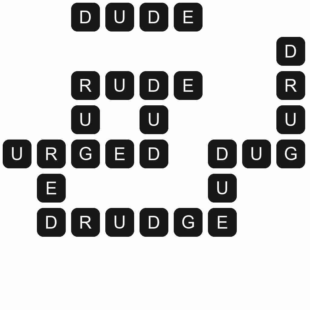 Wordscapes level 4837 answers
