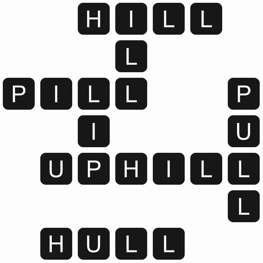 Wordscapes level 4849 answers