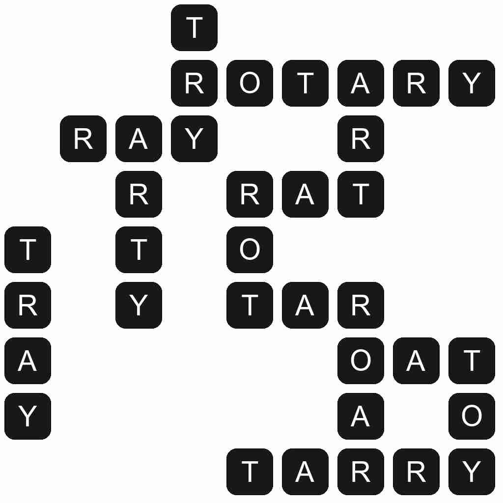 Wordscapes level 5030 answers