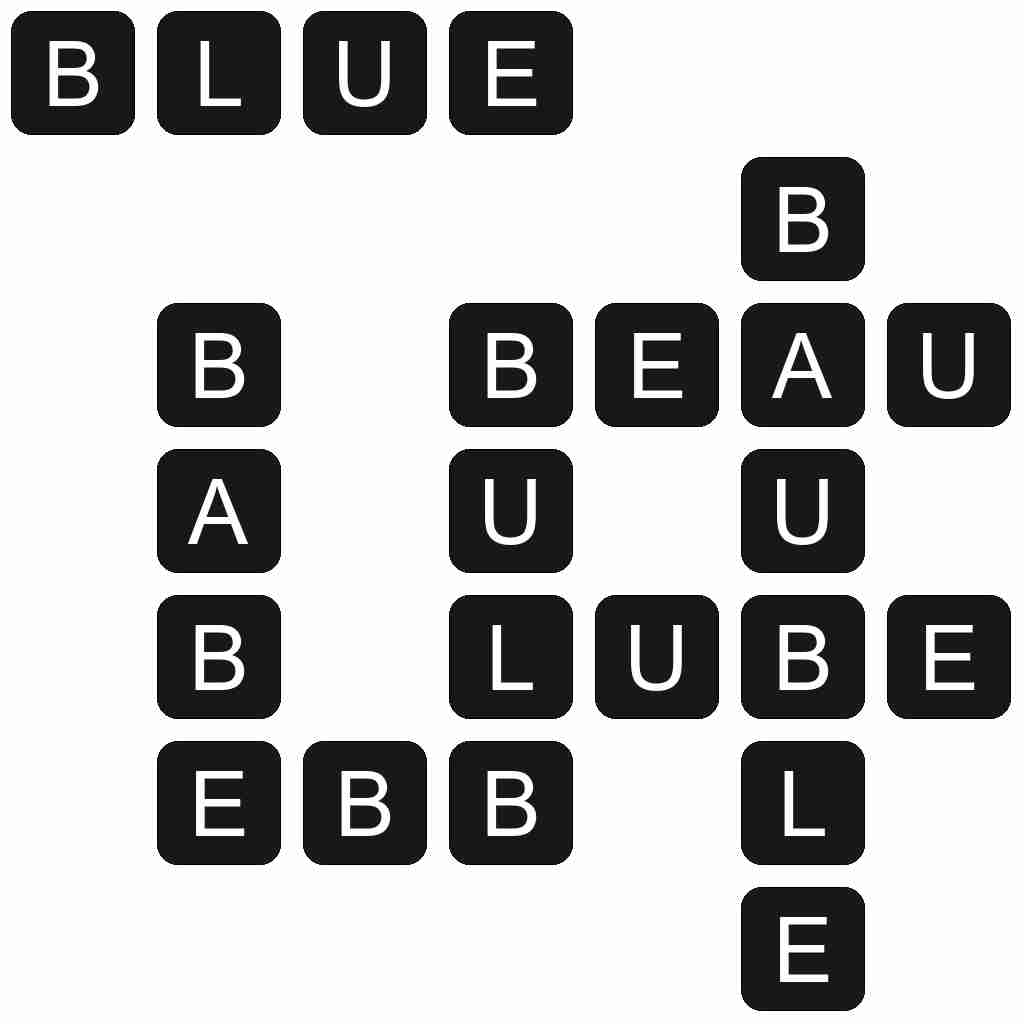 Wordscapes level 5109 answers