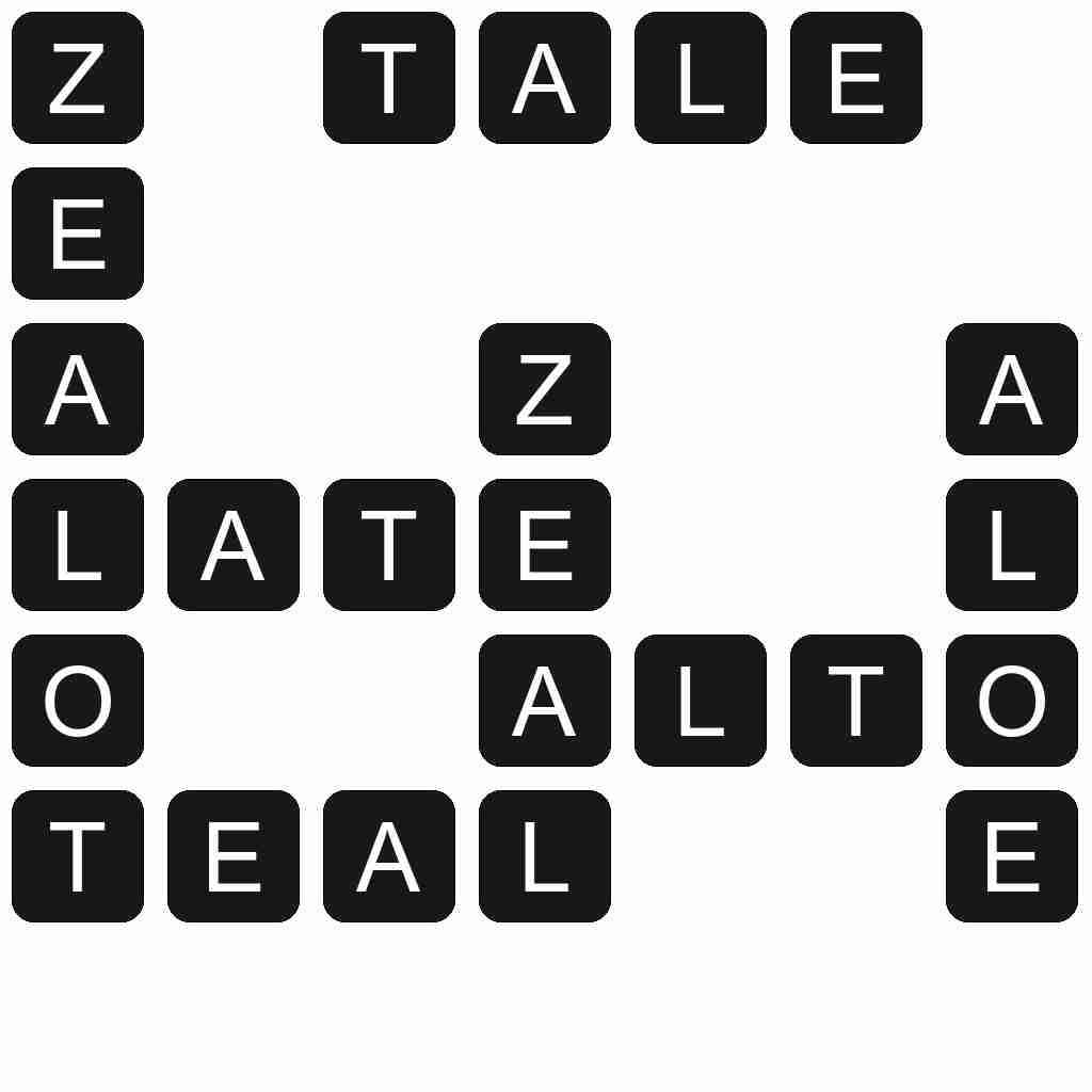 Wordscapes level 5161 answers