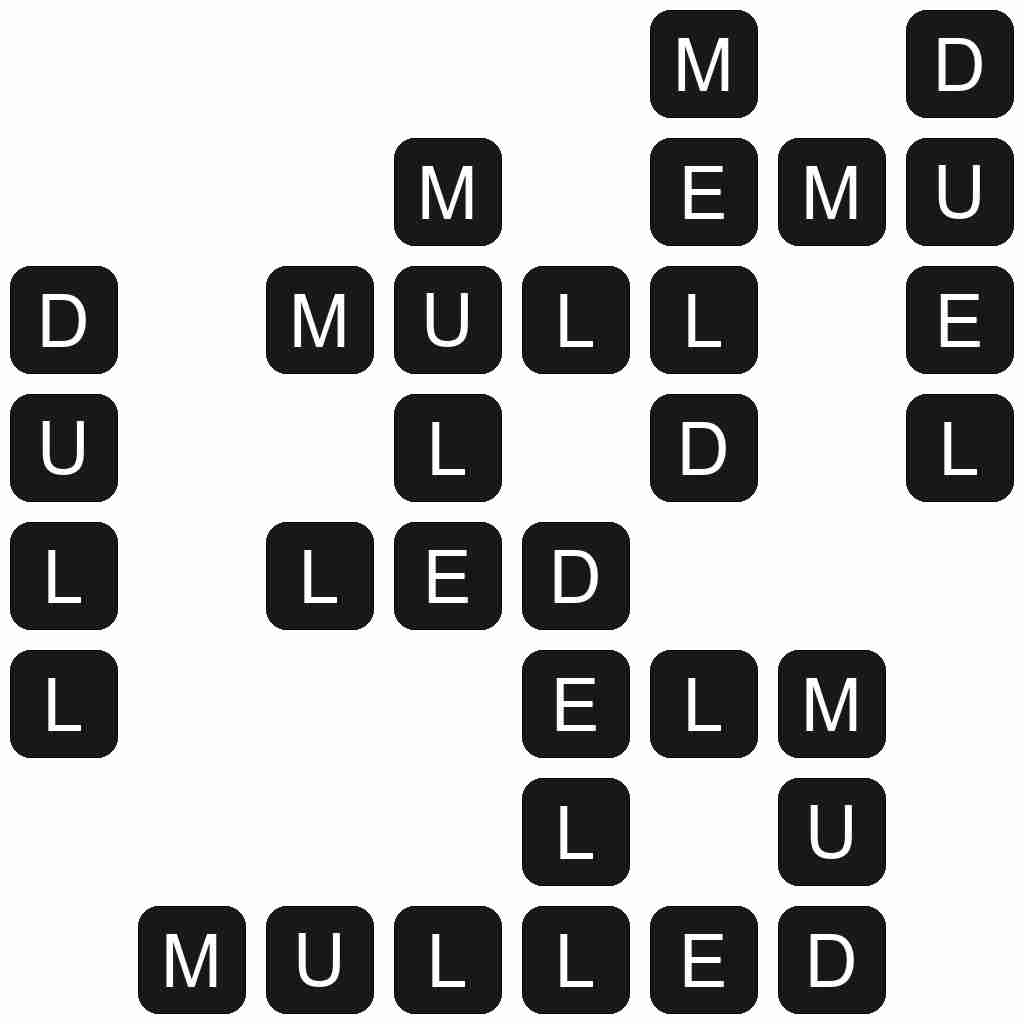 Wordscapes level 5223 answers