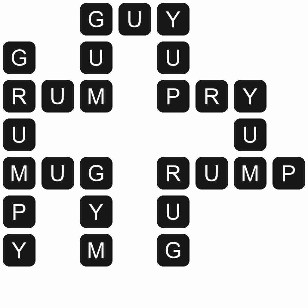 Wordscapes level 529 answers