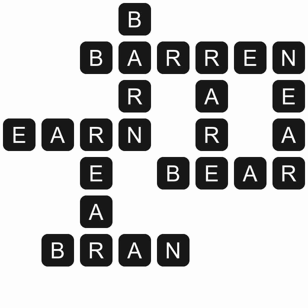 Wordscapes level 5407 answers