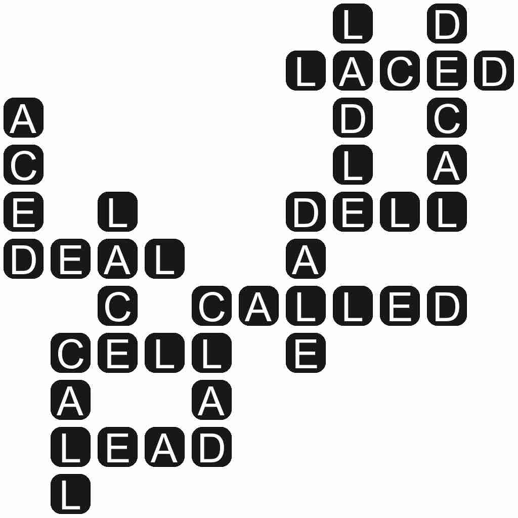 Wordscapes level 5424 answers