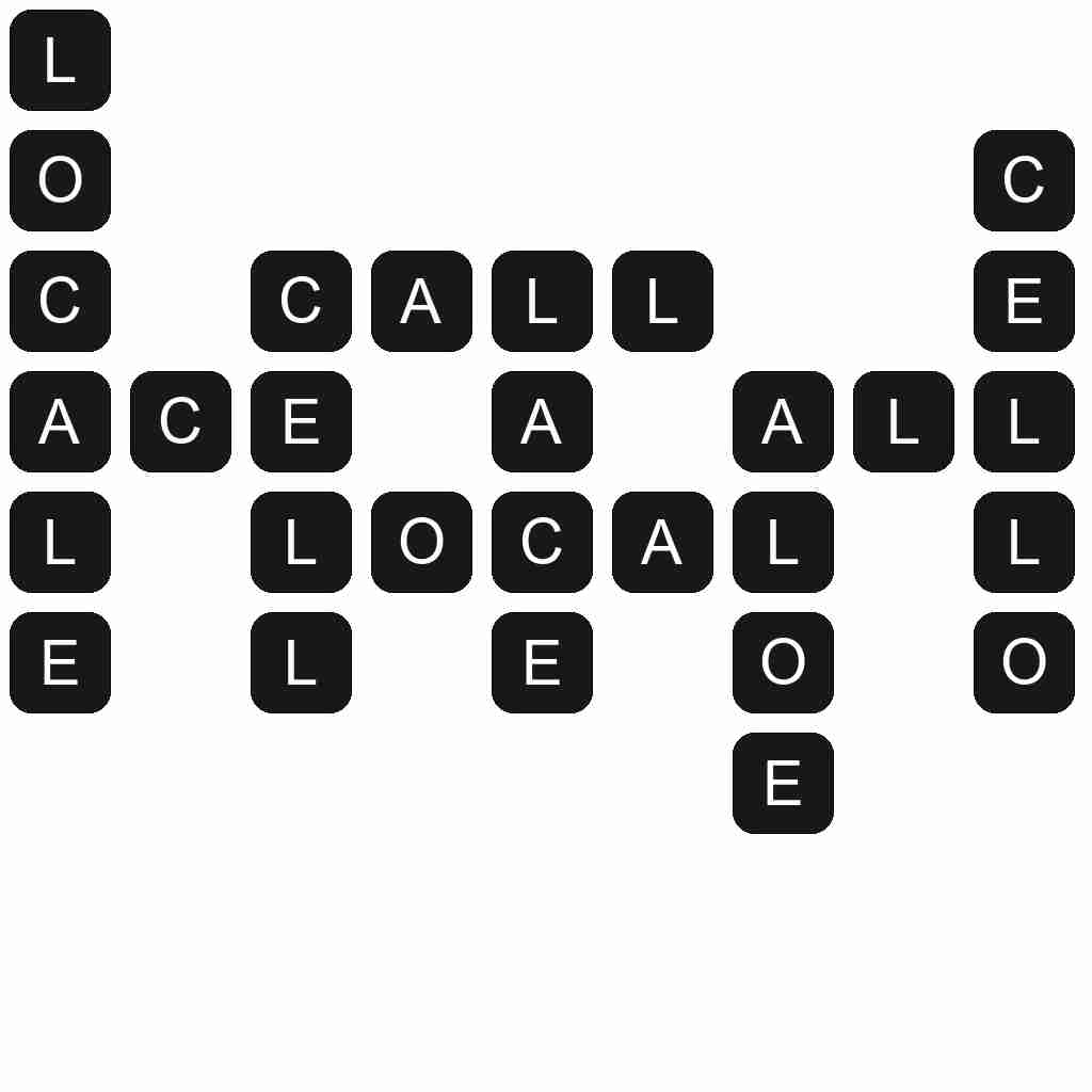 Wordscapes level 5479 answers