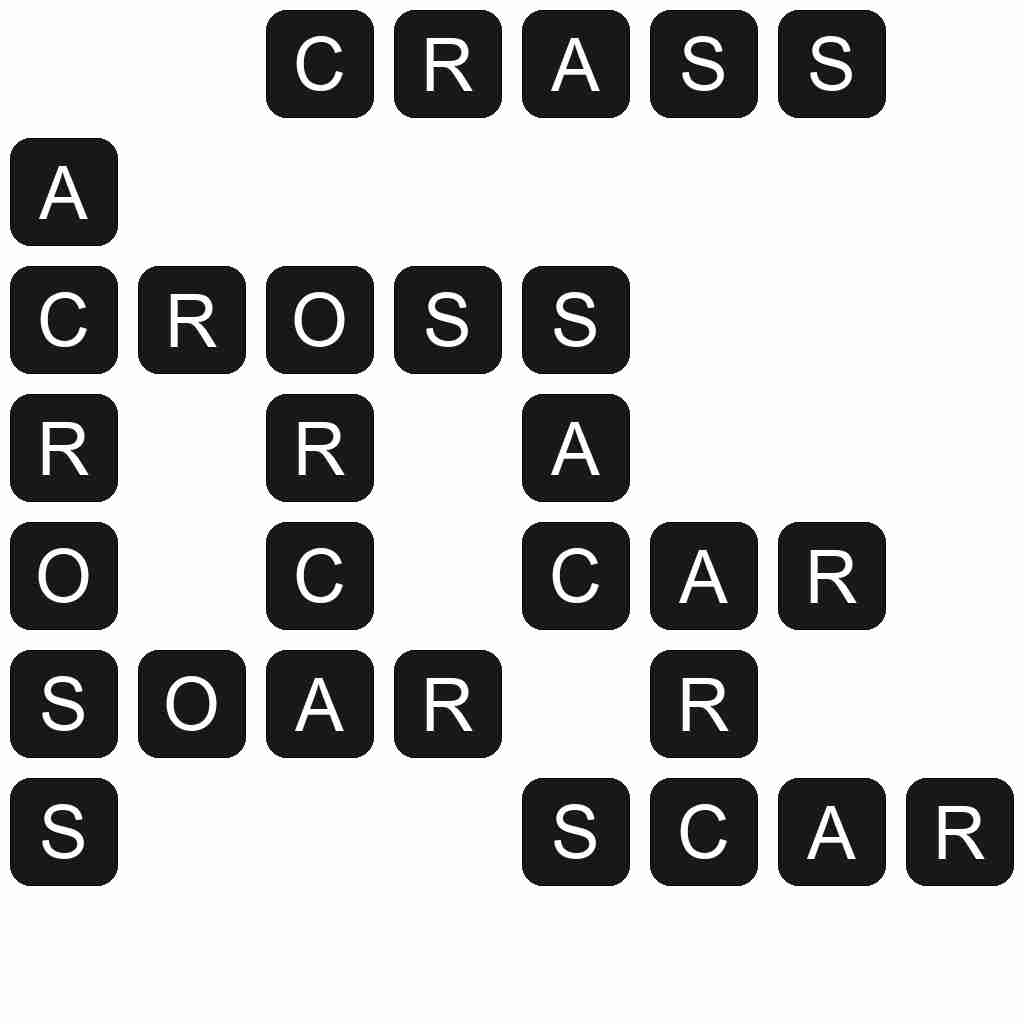 Wordscapes level 5499 answers