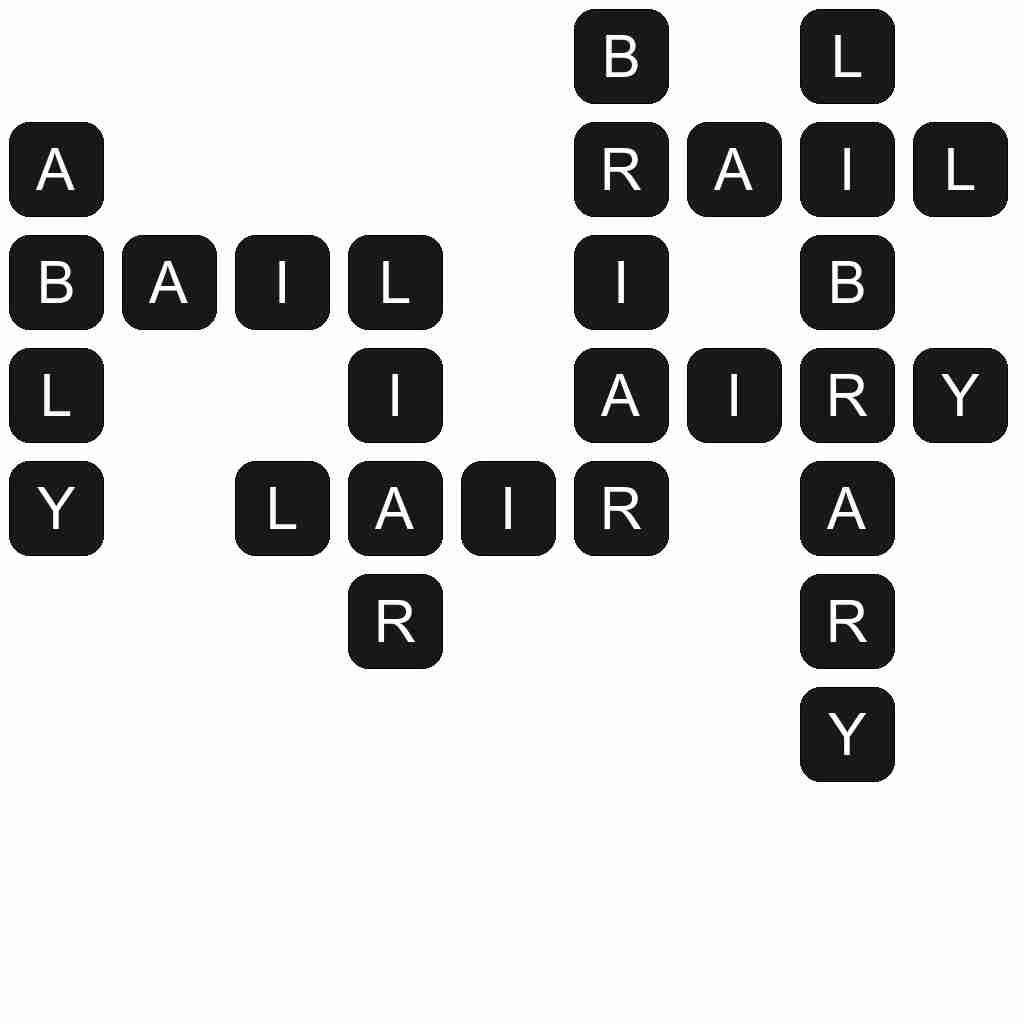 Wordscapes level 5537 answers