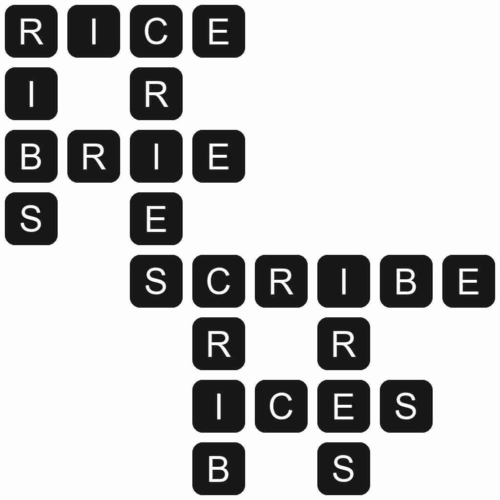 Wordscapes level 5601 answers
