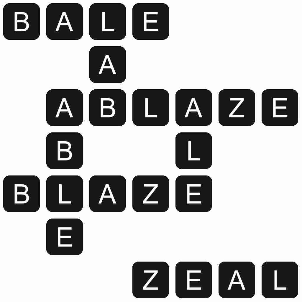 Wordscapes level 5835 answers